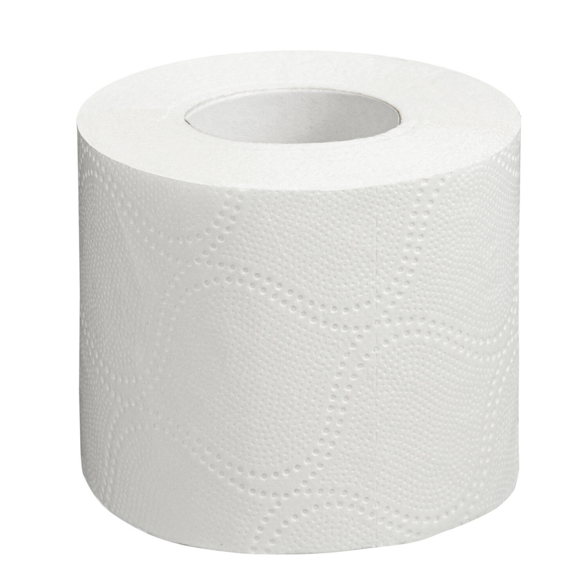 Бумага туалетная бытовая, спайка 12 шт., 2-х слойная, (12х18 м), LAIMA/ЛАЙМА, белая, 128718 (арт. 128718)