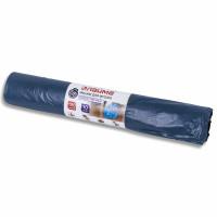 ЛАЙМА 601387 Мешки для мусора 120 л, синие, в рулоне 10 шт., особо прочные, ПВД 40 мкм, 70х110 см, LAIMA, 601387