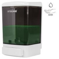 ЛАЙМА 603920 Диспенсер для жидкого мыла LAIMA, НАЛИВНОЙ, 1 л, белый (тонированный), ABS-пластик, 603920