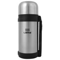 ЛАЙМА 605125 Термос LAIMA классический с узким горлом, 1,2 л, нержавеющая сталь, пластиковая ручка, 605125