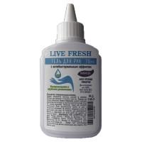 LIVE FRESH  Антисептик-гель для рук спиртосодержащий (70%) 70мл LIVE FRESH, ассорти