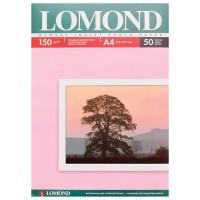 LOMOND 0102018 Фотобумага А4, 150 г/м2, 50 листов, односторонняя, глянцевая, LOMOND, 0102018