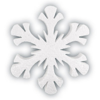 """Love2Art DPZ-35 Заготовка для декорирования """"Love2art"""" DPZ-35 Заготовка для декора пенополистирол 1 шт 05 Снежинка """"Северное сияние"""" 150 мм, 1 шт."""