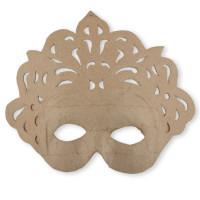 """Love2Art PAM-007 Заготовка для декорирования """"Love2art"""" PAM-007 """"маска"""" папье-маше 20.5 x 20.5 см ."""