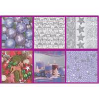Love2Art SDD-0517-15 Салфетки бумажные «Love2Art» АССОРТИ 3-х слойные SDD 33х33 12 шт. №0517-15 Атмосфера праздника