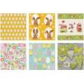 Love2Art SDD-1216-02 Салфетки бумажные «Love2Art» АССОРТИ 3-х слойные SDD 33х33 12 шт. №1216-02 Пасха 2