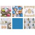 Love2Art SDD-1217-08 Салфетки бумажные «Love2Art» АССОРТИ 3-х слойные SDD 33х33 12 шт. №1217-08 Пасхальные яйца
