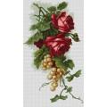 Luca-S B2229 Красные розы с виноградом