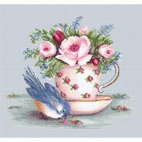 Luca-S B2324 Птичка и чайная чашка