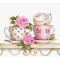 Luca-S B2327 Чайные чашки с розами