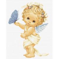 Luca-S B368 Бабочка и ангел