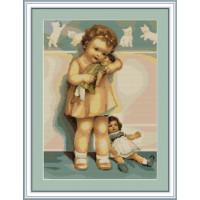 Luca-S B370 Девочка с куклой