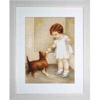 Luca-S B372 Девочка с собакой