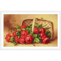 Luca-S B499 Корзинка с розами