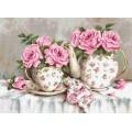 Luca-S BA2320 Утренний чай и розы