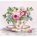 Luca-S BA2321 Цветы в чайной чашке