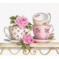 Luca-S BA2327 Чайные чашки с розами