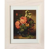 Luca-S G491 Ваза с розами и цветами