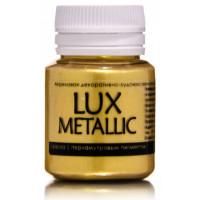 Luxart  M1V20 Акриловая краска LuxMetallic Золото светлое 20мл