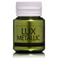 Luxart  M7V20 Акриловая краска LuxMetallic Золото зеленое темное 20мл