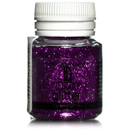 Декоративные Блестки LuxGlitter Фиолетовый 20 мл