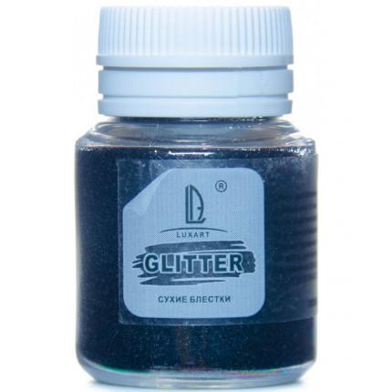 Декоративные Блестки Luxart Glitter Черный 20 мл