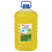 "ЛЮБАША 604792 Средство для мытья пола 5 л, ЛЮБАША ""Лимон"", ПЭТ, 604792"