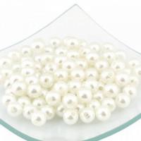 Magic Hobby БУС.MH.КР.ПР.10.129 Бусины  круглые перламутр, цв.129 молочный