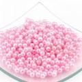 Magic Hobby БУС.МН.КР.06.Н46.01 Бусины круглые перламутр 6 мм, розовый