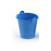 Magic Hobby MG.0319-3 Ведерко декор.Magic 4 Hobby, арт.0319-3,метал., 80х70х55мм 1 шт.цв. окрашенное (голубое)