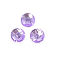 Magic Hobby MG.E.10.07.01 Стразы пришивные акриловые (круг), фиолетоые