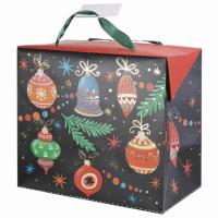 MAGIC TIME 79957 Пакет-коробка подарочный 22,5х20х13,5 см,