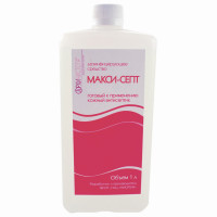 МАКСИ-СЕПТ  Антисептик для рук и поверхностей спиртосодержащий (60%) 1л МАКСИ-СЕПТ, дезинфицирующий, жидкость