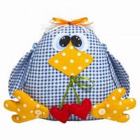 Малиновый слон ТК-001 Набор для шитья мягкой игрушки Птичка Крошка