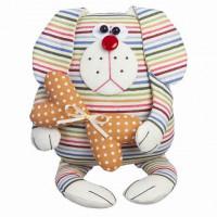 """Малиновый слон ТК-002 Набор для шитья мягкой игрушки """"Пёс Лучик"""""""