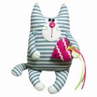 """Малиновый слон ТК-007 Набор для шитья мягкой игрушки  """"Кот Матвей"""""""