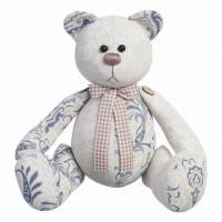 """Малиновый слон ТК-033 Набор для шитья мягкой игрушки  """"Медвежонок Пэч"""""""
