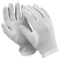 "MANIPULA ТТ-44 Перчатки хлопчатобумажные MANIPULA ""Атом"", КОМПЛЕКТ 12 пар, размер 7 (S), белые, ТТ-44"