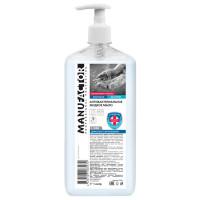 MANUFACTOR L 50610 Мыло жидкое антибактериальное 1 л MANUFACTOR, с дозатором, L 50610