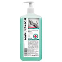 MANUFACTOR N30830 Антисептик-гель для рук спиртосодержащий (спирт 66%-70%) с дозатором 1л MANUFACTOR, дезинфицирующий, N30830