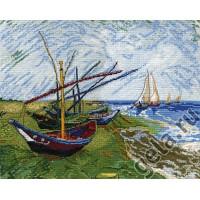 Марья Искусница 06.003.01 Лодки в Сен-Мари