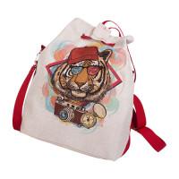 Матренин Посад 502640 9162 Набор сумка из холста с нанесенным рисунком и подкладкой Матренин Посад 'Хиппи' 37х37х12 см