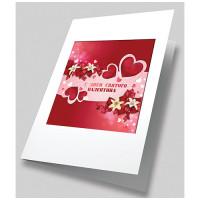 Матренин Посад 503345 8391 Набор для создания открытки Матренин Посад 'Алое сердце' 12х17см