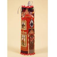 Матренин Посад 582054 8274 Набор для шитья и вышивания 'Матренин посад' чехол на бутылку 'Домик красный'