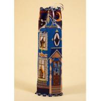 Матренин Посад 582055 8275 Набор для шитья и вышивания 'Матренин посад' чехол на бутылку 'Домик синий'
