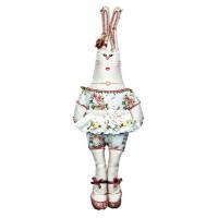Матренин Посад 7704322 8000 Набор для шитья и вышивания 'Матренин посад' текстильная игрушка 'Зайка прасковья', 47*22 см