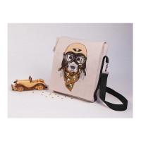 Матренин Посад 900634 8527 Набор для шитья и вышивания текстильная сумка Матренин Посад 'Пилот' 25х38см (16х25см)