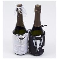 Матренин Посад 904001 8287 Набор для шитья и вышивания чехол на бутылку Матренин Посад 'Свадебный пир' 20*28см