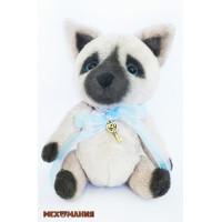 """Мехомания ММВ-003 Набор для изготовления игрушки из меха """"Сиамский котёнок"""""""