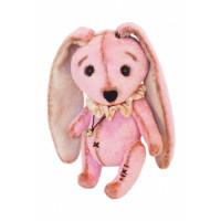 Мехомания ММВ-010 Набор для изготовления игрушки из меха Розовый кроха